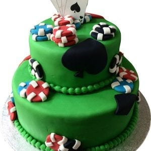 POKER CAKE DESIGN BY CAKENOLOGY