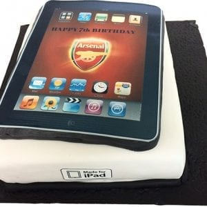iPad cake in London