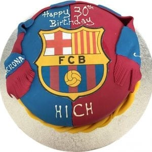 BARCELONA FC BESPOKE CAKE