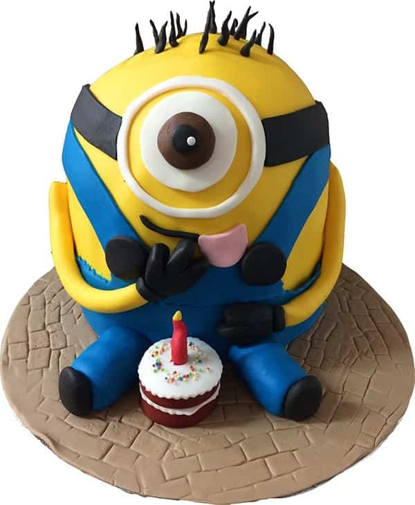 Admirable Minions Birthday Cake Cakenology Funny Birthday Cards Online Barepcheapnameinfo